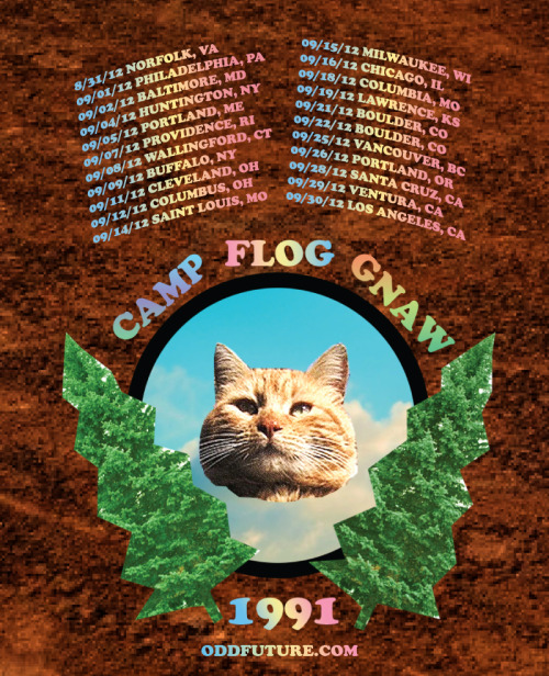 oddfuture:  OUR US TOUR TICKETS ARE NOW ON SALE!!!! CLICK PHOTO!!!!  Los Angeles Tickets Will be Announced Soon.