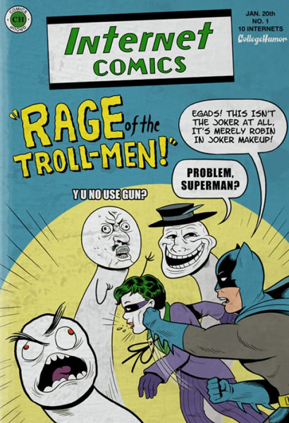 Batman vs. The Internet [Click to continue reading]