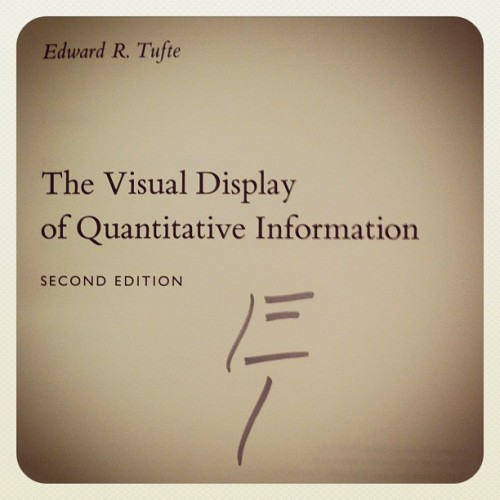 Tufte Autograph at Presenting Data and Information (Taken with Instagram at Sheraton Denver Downtown Hotel)