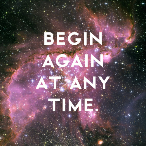 nevver:  Begin at any time