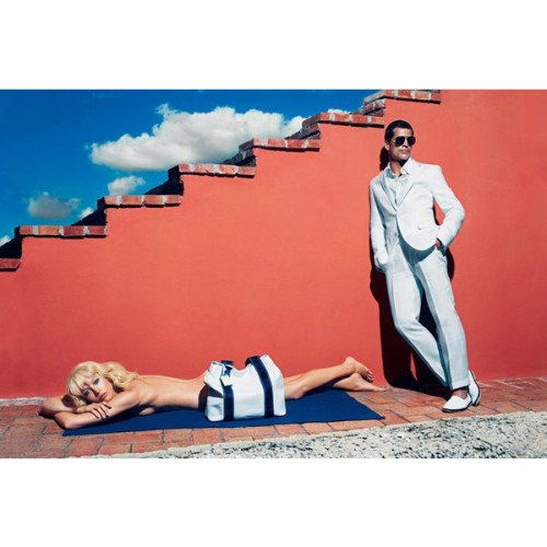 Raquel Zimmermann & Heidi Mount by Mario Sorrenti: Hugo Boss Spring…