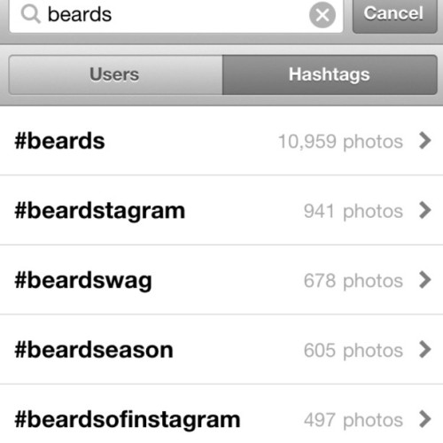 brb gonna be on Instagram for a few hours. #beards  (Taken with Instagram)