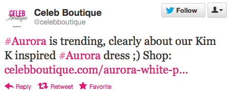 newsweek:  Celeb Boutique went there.