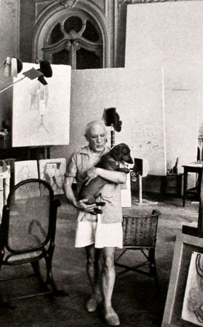 Picasso and Lump  via MONDOBLOGO