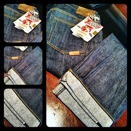 PRPS Goods - More sizes in stock #Denim #PRPSGoods #RawDenim #selvedge  (Taken with Instagram)