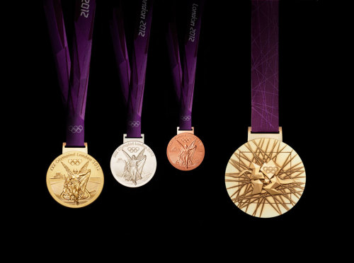 new-adventure:  London 2012 Olympic Medals Two more days! So close!