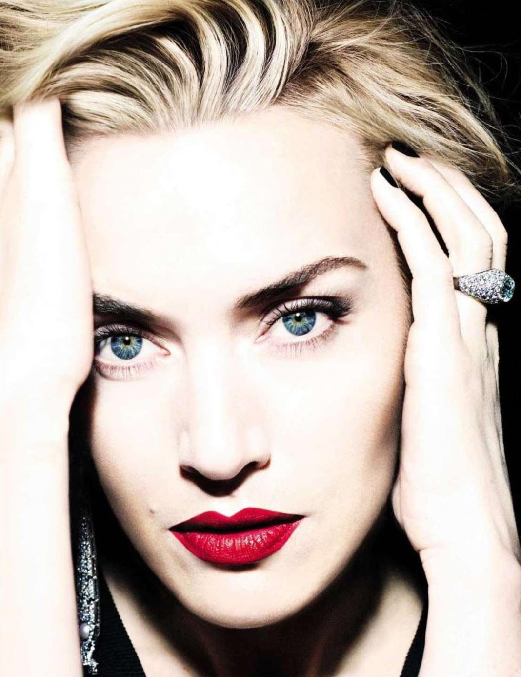 bohemea:  Kate Winslet - Vogue Spain by Miguel Reveriego, August 2012