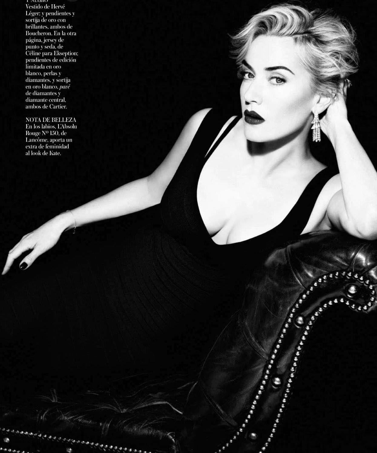 Kate Winslet - Vogue Spain by Miguel Reveriego, August 2012