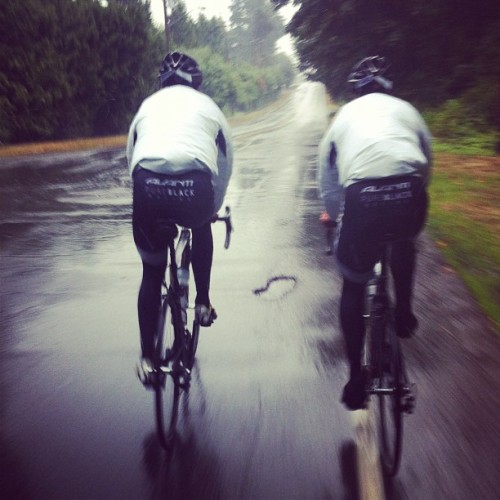 Not even in NZ yet… Training with the crazy. (Taken with Instagram)