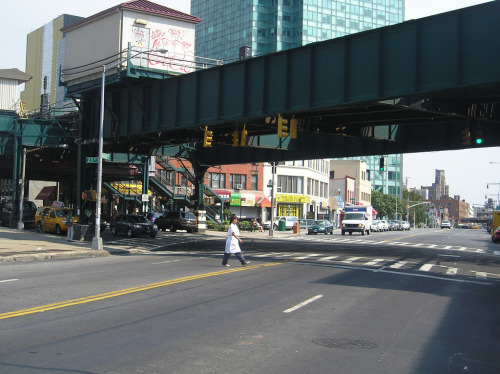 Long Island City, Queens, NYC, c. 2008.