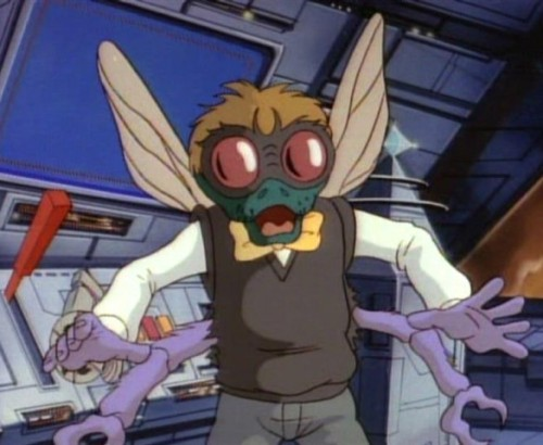 he's pretty white for a fly guy laughingsquid:  10 Unsung Teenage Mutant Ninja Turtle Villains
