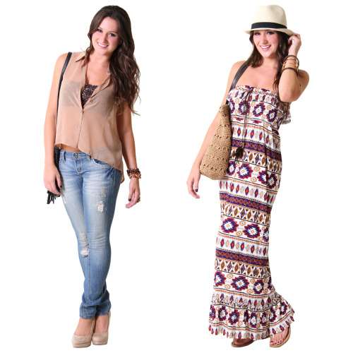 Outfit Vote: Which boho look would you wear?