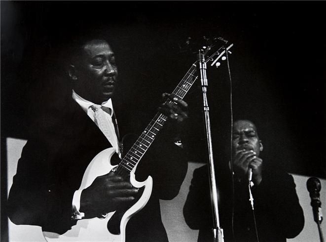 Muddy Waters and James Cotton, New York, NY 1965