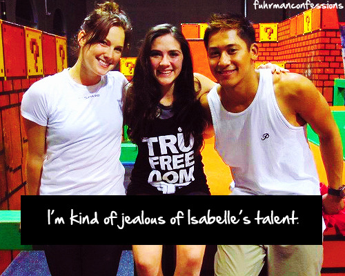 anonymous: I'm kind of jealous of Isabelle's talent.