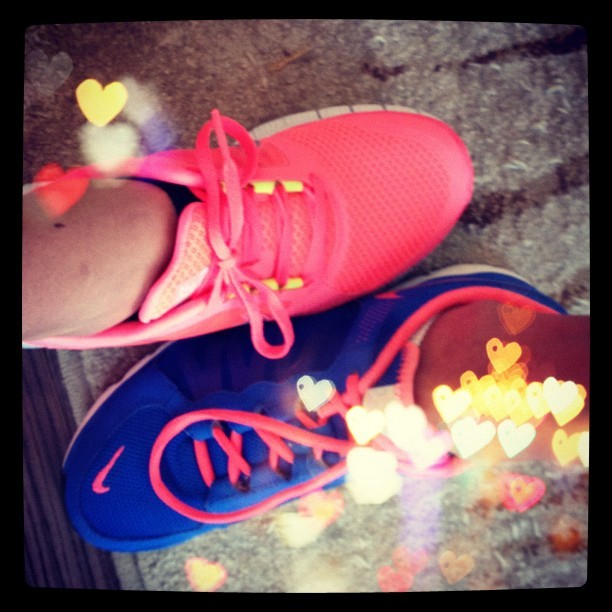 Which do u like better? #shoes #fitnessfashion (Taken with Instagram)