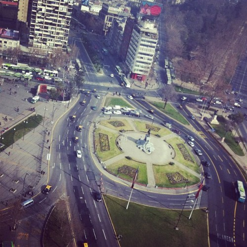Piazza Italia! #italy #santiago #chile  (Taken with Instagram at Plaza Italia)