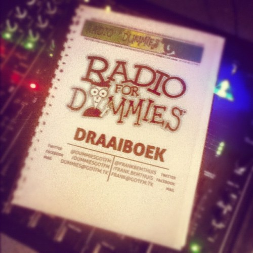 Dit gaat echt een keileuk programma worden om te presenteren :) #RadioForDummies #GotFM #FROC (Taken with Instagram at GotFM Freewheel Radio)