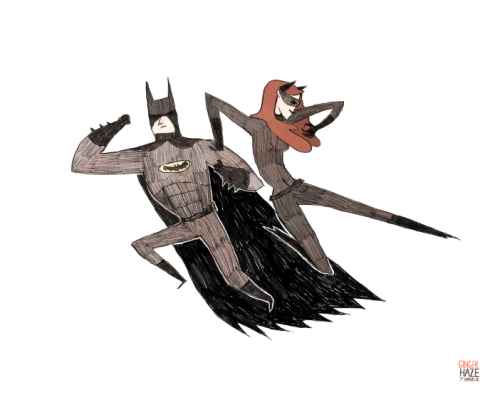 gingerhaze:  The Bat and the Cat