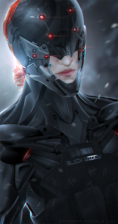 unknownskywalker:  The BLack Widow by cat-meff