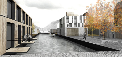 Klaksvìk City Center by StudioWOK