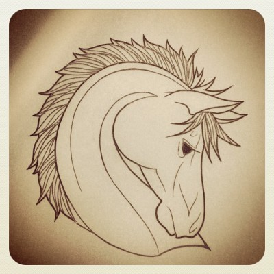 Who wants a horsey?? #tattoo #tattooart #illustration #traditionaltattoo #horse (Taken with Instagram at Los Angeles)