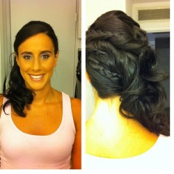 @ashleymcc2122 Looks amazing! Thanks for letting us help you glam up for tonight! ❌⭕ (Taken with Instagram at Plush Salon)