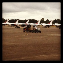 At the Air Show…. (Taken with Instagram at McChord HSC Hanger 2)