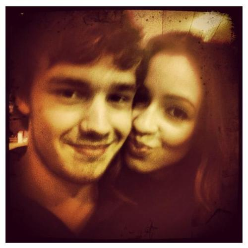 Danielle posted this picture of her and Liam on her instagram.