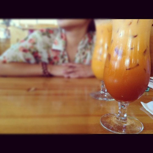 Thai lunch. (Taken with Instagram)