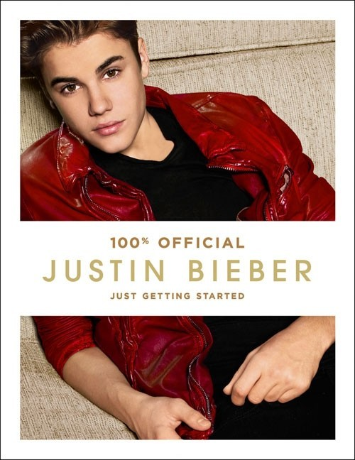 The cover for Justin Bieber's new book 'Just Getting Started'