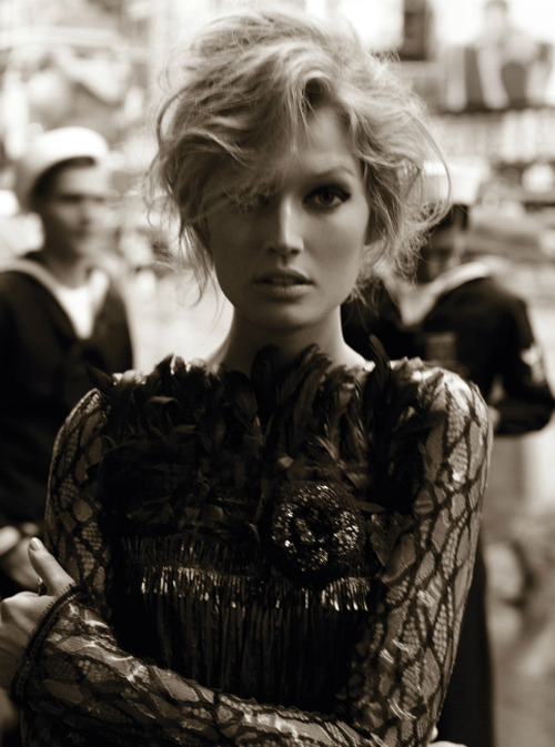 extrasexy:  Toni Garrn | Alexi Lubomirski | Vogue Germany August 2012 |