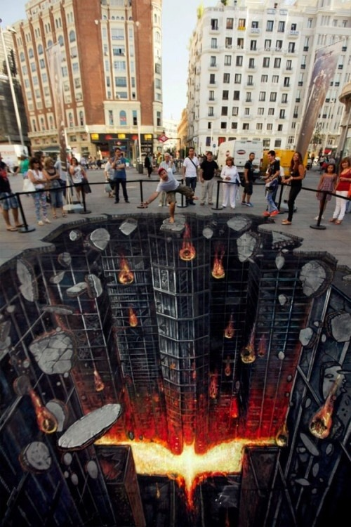 The Dark Knight street art