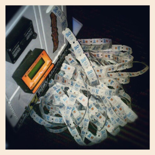 07192012 #DaveAndBusters // Guess who won 1000 #Tickets!?!? :D // #Arcade #Games #GreatAccomplishments (Taken with Instagram at Dave & Buster's)