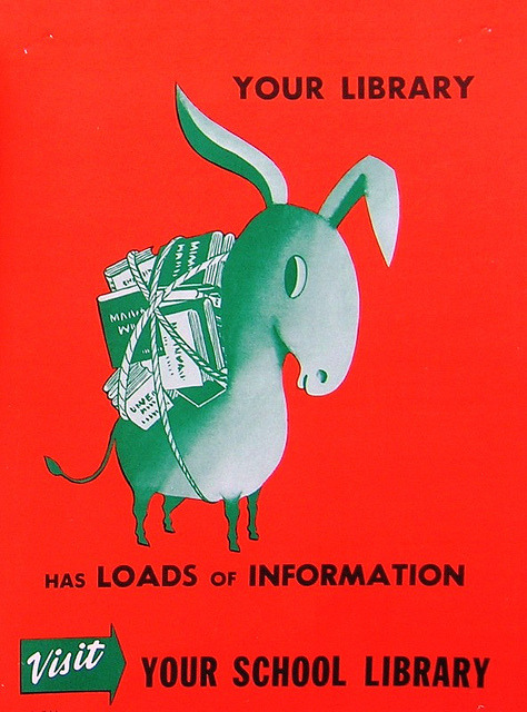 Your Library Has Loads of Information by Enokson