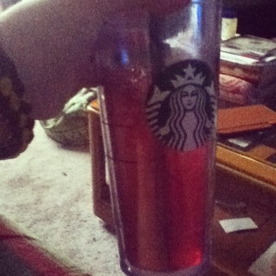 #PassionTeaLemonade from #Starbucks. #personal #food #drink (Taken with Instagram)