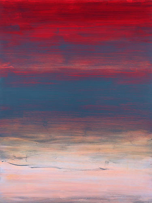 blue-voids:  Trevor Sutton oil on board, 2006