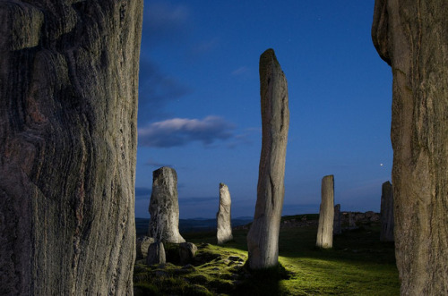 Night at the Callanish Stones, Hebrides Islands, Scotland by JC Richardson on Flickr.