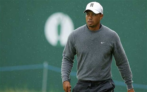 Tiger Woods - Golf Open 2012 I love his sweater.