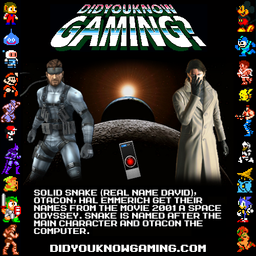 didyouknowgaming:  Metal Gear Solid. Submitted by CRN7112.  and it DOES THINGS TO MY FEELINGS