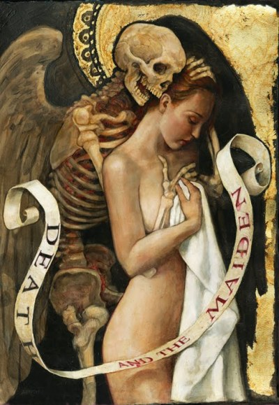 mauditart:  P.J. Lynch - Death and the Maiden