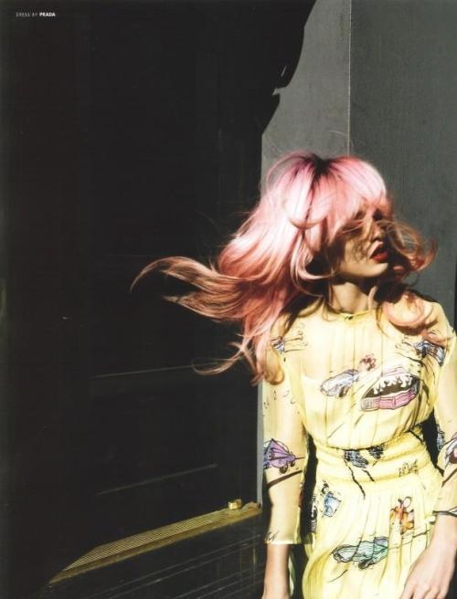 hauten:  Charlotte Free shot by Cedric Buchet for 10 Magazine Spring/Summer 2012