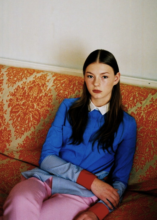 moldavia:  Anna Jackson in Dazed & Confused July 2011 by Letty Schmiterlow