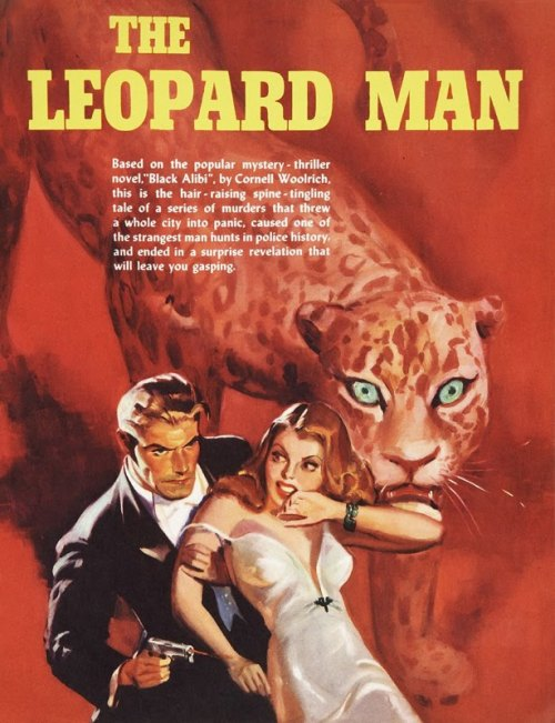 RKO promotional art for The Leopard Man (1943)