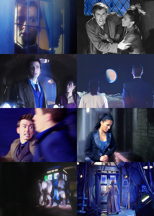 Doctor Who: season 3 in blue