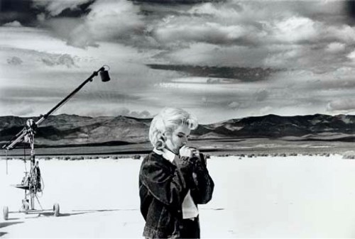 "Marilyn Monroe on the Set of ""The Misfits"", by Eve Arnold (1960)"