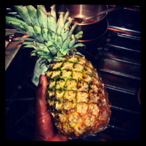 Pineapples…. (Taken with Instagram)