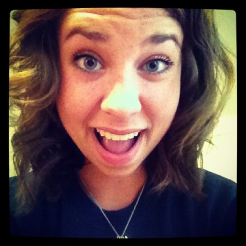 short hair, don't care(: #yayy #newhair  (Taken with Instagram)