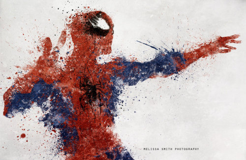 wildcat-mike:  Cool spiderman painting