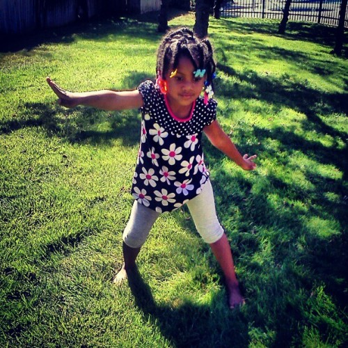 She dance we play (Taken with Instagram)