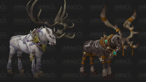 notisolde:  From MMO Champion: Druid Stag Travel Form! Instead of useless current travel form (cheetah), druids will be able to glyph to transform into a Stag, allowing them to carry another player on their backs. Still 30% speed boost, which is disappointing, but… WE'LL LOOK LIKE MOTHERFUCKING MALORNE.    OMG MOUNT ME!